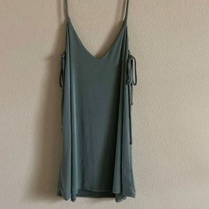 Lulus sage green dress